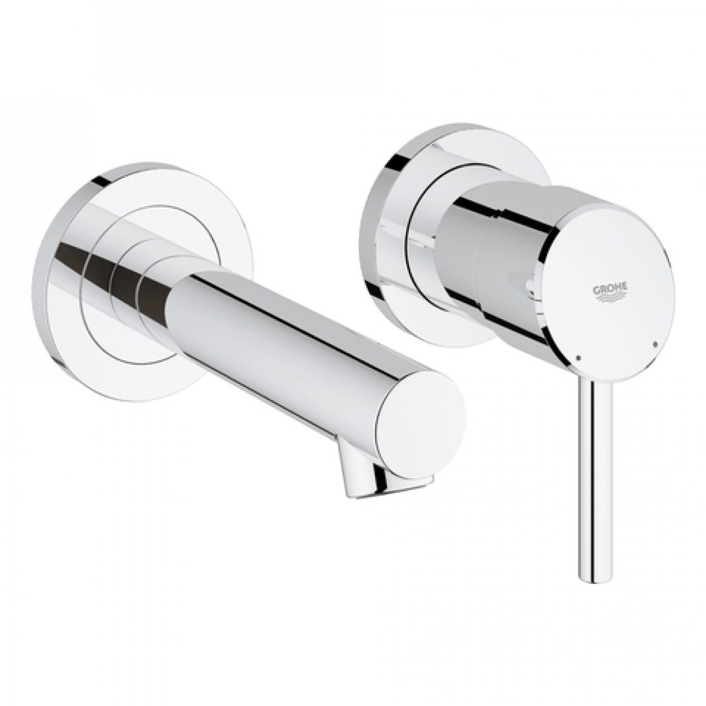 GROHE 2-Loch-WT-Batterie Concetto 19575